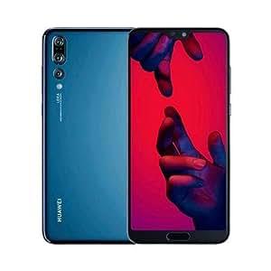 """Huawei P20 Pro - Smartphone libre de 6.1"""" (Mono-SIM, Octa-core 4x2.36GHz Cortex A73 memoria interna de 128 GB, 6 GB de RAM, cámara de 40 MP, Android) Azul obscuro"""