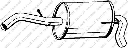 Bosal 233-607 Silencieux arri/ère