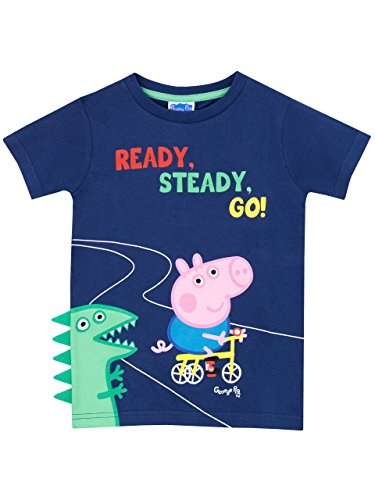 Peppa Pig Boys' George Pig T-Shirt Size 6 -