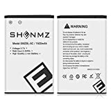 SHENMZ BL-5C Battery charger, 2X 1500mAh