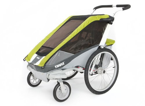 Thule Cougar Single Stroller - Avocado (Brown Single Stroller)