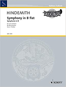 Symphony in B-flat for Concert Band: Score