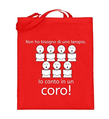 Una Di Borsa In Coro Terapia Lunghi Shirtee Per Io Red con Bisogno Iuta Rubin Manici Cantanti Canto Un Non Ho Ideale wtwq1I
