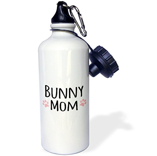 """3dRose wb_154044_1 """"Bunny Mom-for female rabbit lovers an..."""