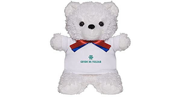 Amazon Com Cafepress Coton De Tulear Snowflake Teddy Bear