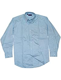 Polo Ralph Lauren Purple Label Mens Cotton Oxford Dress Shirt Italy Light  Blue