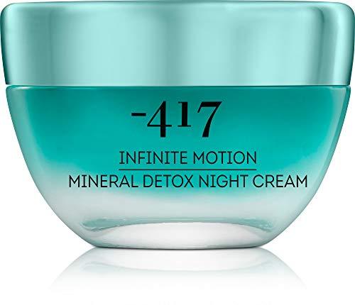 -417 Dead Sea Cosmetics Moisture-Balance Anti Aging Night Cream For Deep Skin Repair Rich in Nourishing Shea Butter Infinite Motion Collection