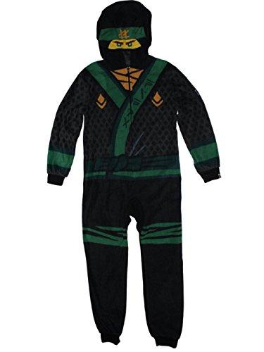 Lego Ninjago Movie Lloyd Union Suit Costume Pajamas 4-12 (S (6/7)) -