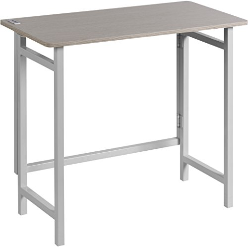OneSpace 50-1030QA01 No Assembly Folding Desk