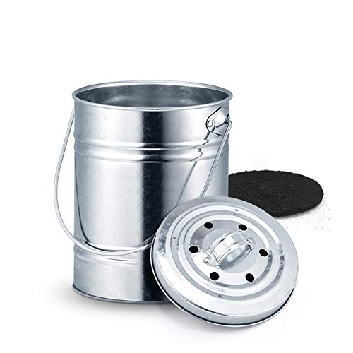 Compostador compost Cocina - con filtro de carbón ...
