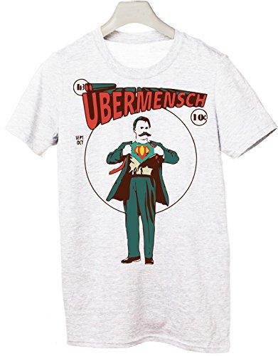 Nietzsche Superuomo Taglie Le Tshirteria Bianco Tutte Tshirt By 75xSwa7q