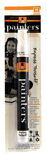Elmer's Painters Opaque Paint Marker, Medium Point, White, 1 Count