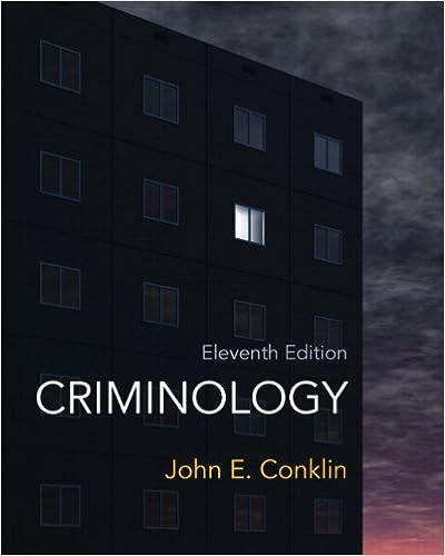Criminology 11th edition john e conklin 8601421875813 amazon criminology 11th edition 11th edition by fandeluxe Image collections