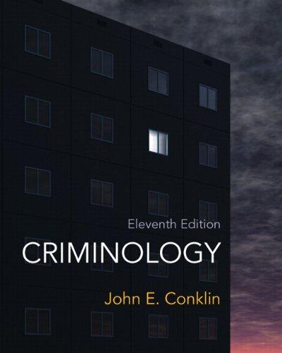 Criminology (11th Edition)