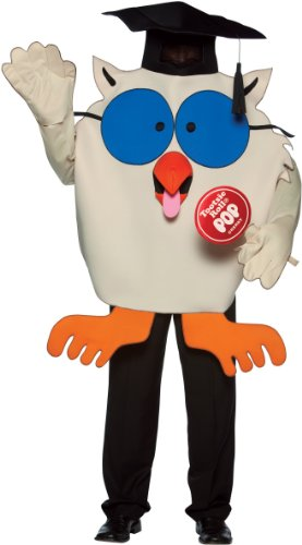 Mr. Owl Tootsie Roll Costume - One Size - Chest Size 48-52