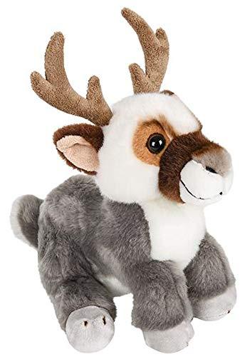 Wildlife Tree 9 Inch Stuffed Reindeer Plush Floppy Caribou Animal -