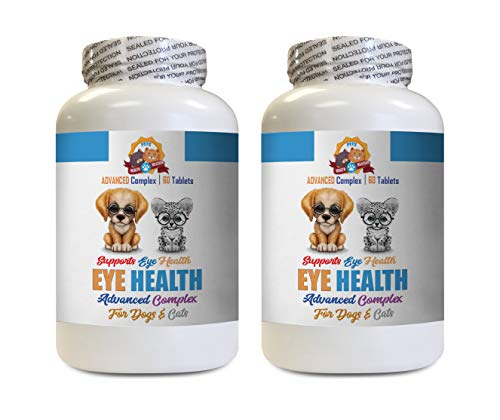 cat Eye Solution - Support Pets Eye Health - for Dogs and Cats - Advanced Complex - cat Vitamin b12-120 Tablets (2 Bottles)