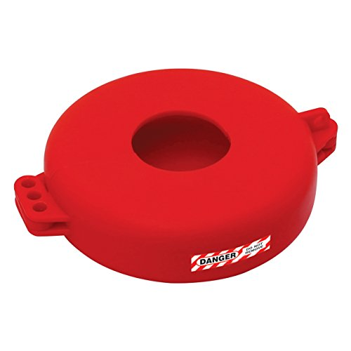 Lockout Safety Supply 7246 Gate Valve Lockout, 5'' - 6.5'' Wheel, Red by Lockout Safety Supply (Image #5)