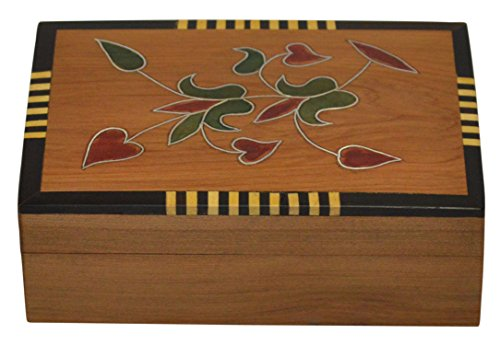 - Thuya Wood Handmade Moroccan Jewelry Box Storage Exquisite Traditional Vintage Design Medium