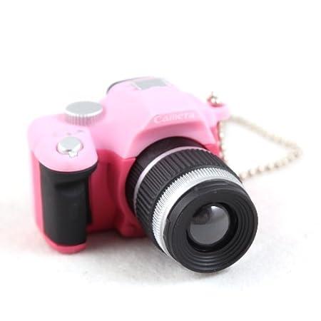 MA-on Llavero Divertido con diseño de cámara réflex Digital (Rosa ...