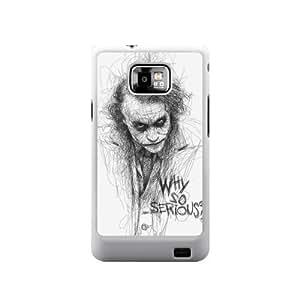 The Batman Joker Why So Serious Image Snap On Hard Plastic SamSung Galaxy S2 I9100 Case