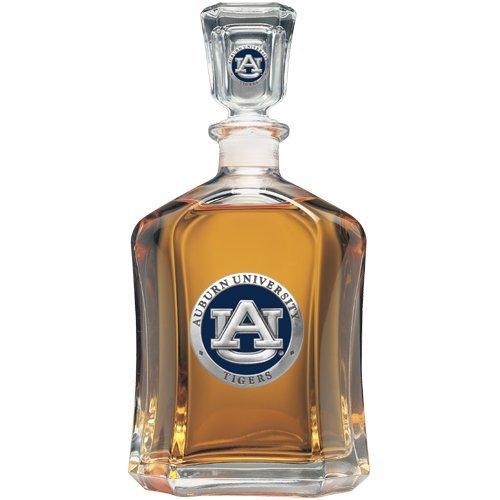 Tigers Team Logo Glass (Team Color Logo Auburn Tigers Decanter Glass Bottle)