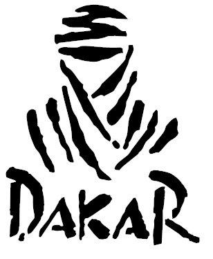 1st-Class-Designs Adhesivo con el logotipo del rally Paris-Dakar para automóvil o bicicleta Paris Dakar