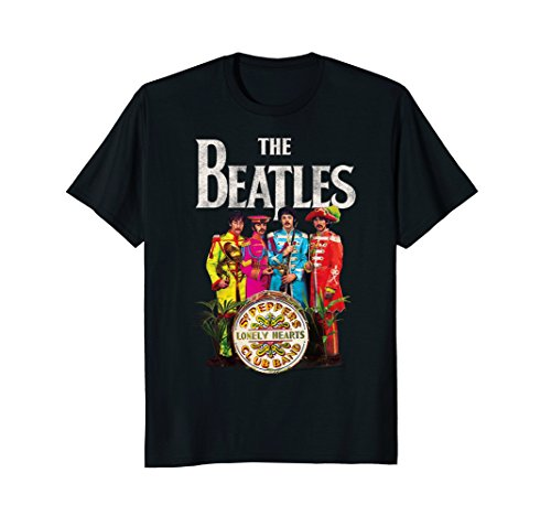 earts Sergeant T-shirt (Beatles Lonely Hearts T-shirt)