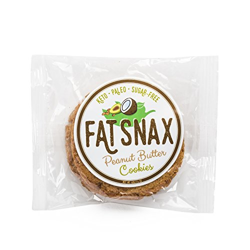 Fat Snax Peanut Butter Cookies - Keto, Low Carb, and Sugar Free
