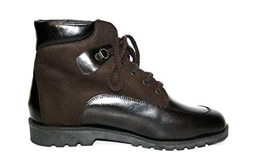 Ganter - Botas de Piel para mujer Marrón marrón Marrón - Braun (Bronce/Espresso)
