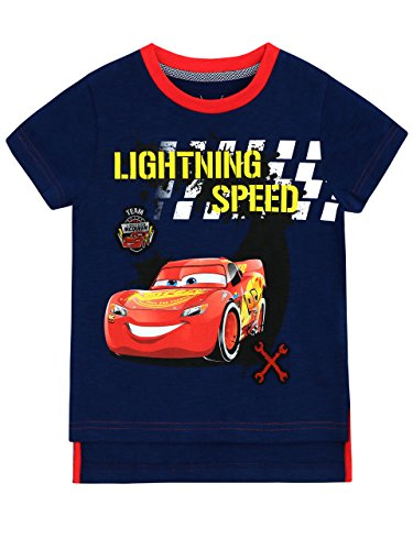 Disney Cars Boys' Cars Lightning McQueen T-Shirt Size 7