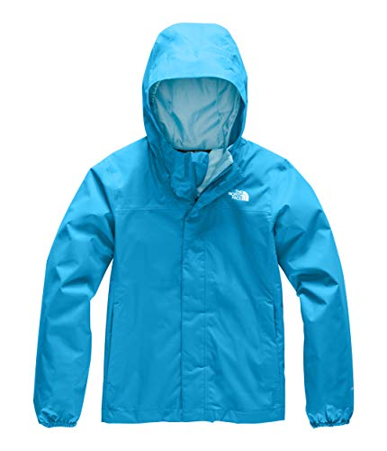 The North Face Girls' Resolve Reflective Jacket, Acoustic Blue, XXS