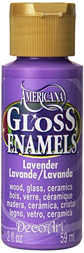 DecoArt DAG34-30 Gloss Enamel Paint Lavender 2OZ, Multicolor -