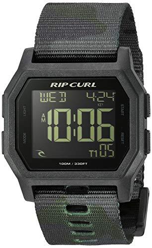 - Rip Curl Men's Quartz Sport Watch with Silicone Strap, Black, 24.3 (Model: A3087CMO1SZ)