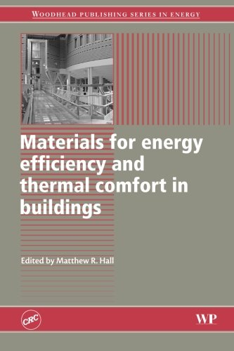 Materials for Energy Efficiency and Thermal Comfort in Buildings (Woodhead Publishing Series in Energy)