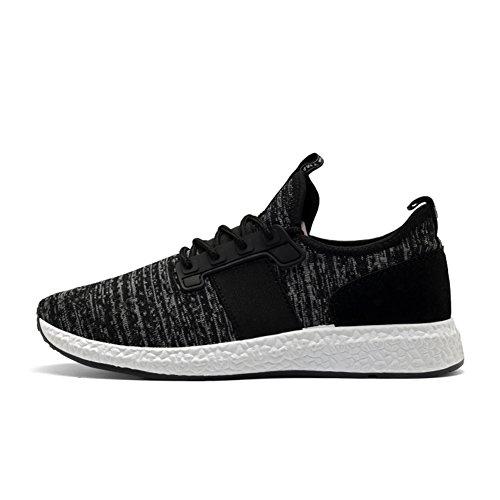 de Homme Sport course Basket Entra Respirant Chaussures Noir Mesh 4 Senbore nement qA57wt