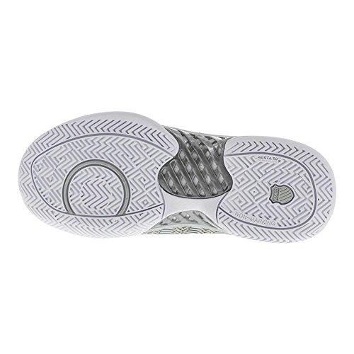 Tennis Shoe-9.5-White/Silver