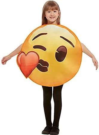 Funidelia Disfraz de Emoji Beso de corazón Infantil: Amazon.es ...
