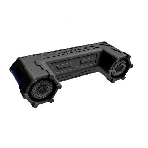 Planet Audio PATV65 Planet Off Road ATV Sound System, 6.5' Marine Speakers, Bluetooth, LED Bar 6.5 Marine Speakers