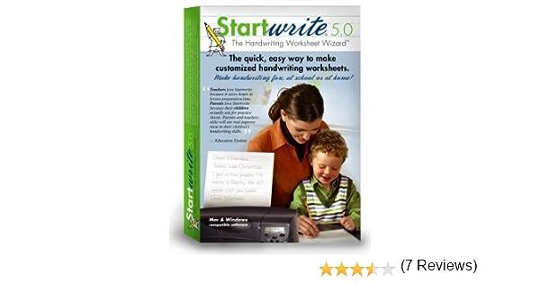 Amazon.com: StartWrite Handwriting Software 5.0