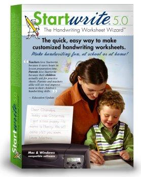 Workbook customizable handwriting worksheets : Amazon.com: StartWrite Handwriting Software 5.0
