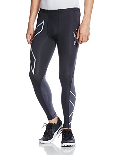2XU Men's Elite Compression Tights (X-Small)