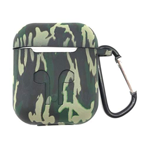 Camo Case Cover - Airpods Camouflag Small Highly Rated, Well-Priced Products Available to Ship Immediately Airpods Case Cover Waterproof (Camouflage Green)