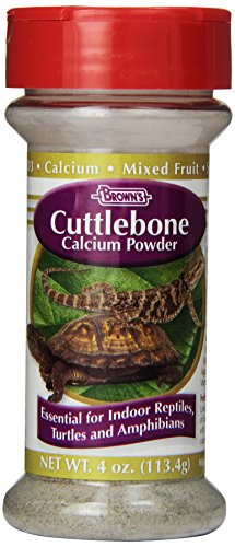 F.M. Brown's Cuttlebone Calcium Powder for Reptiles, 4-Ounce, Purple