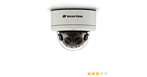 FREE S//H Arecont AV12585PM 180˚ WDR Panoramic IP Camera POWER TESTED ONLY