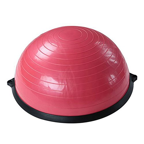 Fitness Balance Ball Trainer Anti-Burst BOSU Ball for Yoga Pilates Random Color