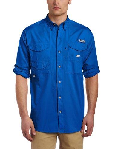 Columbia Men's Bonehead Long Sleeve Shirt, X-Large, Vivid Bl