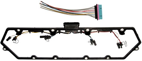 APDTY 726312 Valve Cover Gasket Kit w/Glow Plug Wiring Harness Fits Select 1998-2004 Ford/IC Corporation/International Trucks w/ 7.3L Diesel (Sold Individually; Replaces F81Z6584AA, F81Z9D930AB)