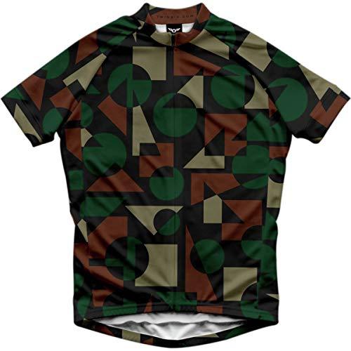 Twin Six MOD Jersey - Men's Green Camo, XL