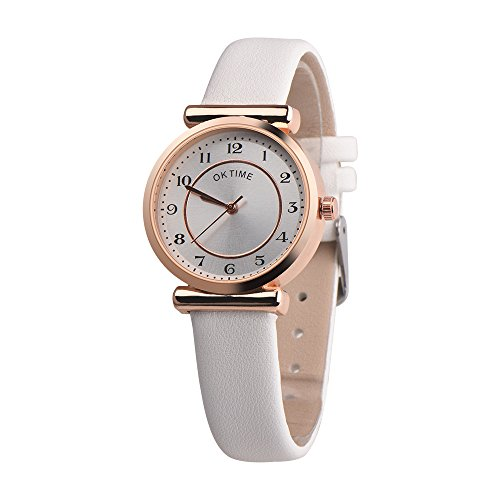 mens white dial luxury watches - 8